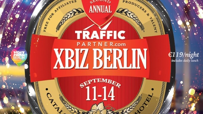 TrafficPartner Named 2017 XBIZ Berlin Presenting Sponsor