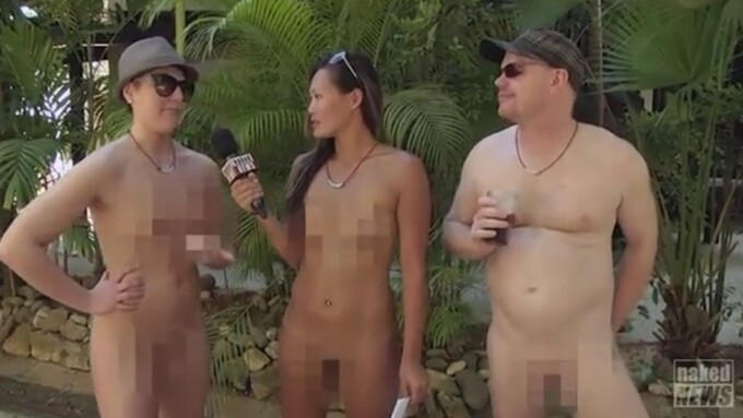 Naked News Gets Plug From The Sun as It Travels to Jamaica