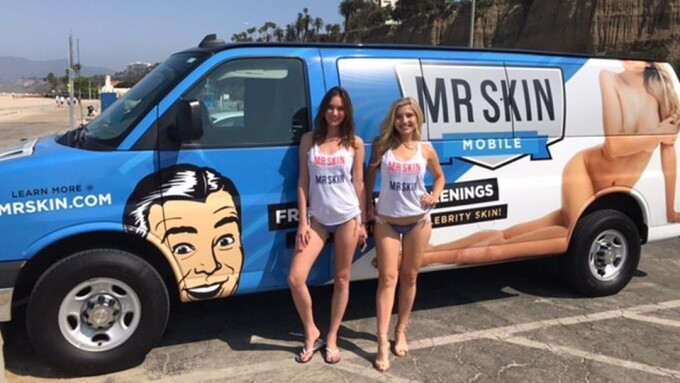 Mr. Skin Dispatches Mobile Unit for L.A. Skin Exams