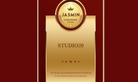 Studio 20 Receives 'Jasmin Gold Certificate' for Excellence