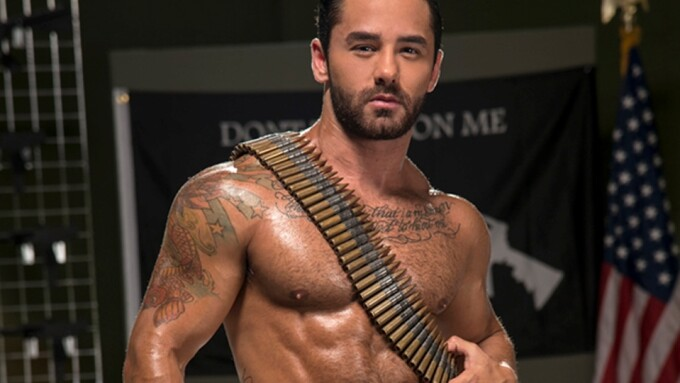 'Gun Show' Scene Debuts on RagingStallion.com Tomorrow
