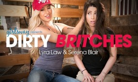 Girlsway Offers 'Dirty Britches,' Starring Serena Blair