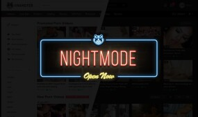 xHamster Debuts 'Night Mode' Skin