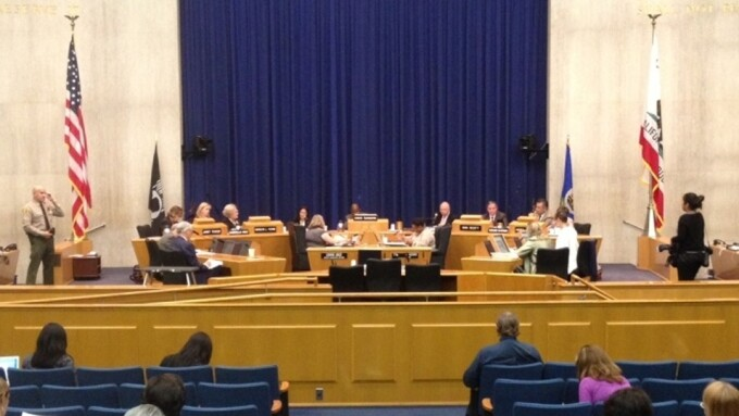 L.A. County Postpones Discussion on Adult Film Permit Fee Proposal
