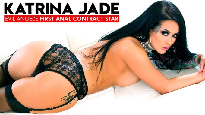 Katrina Jade Named 1st-Ever Evil Angel Contract Star