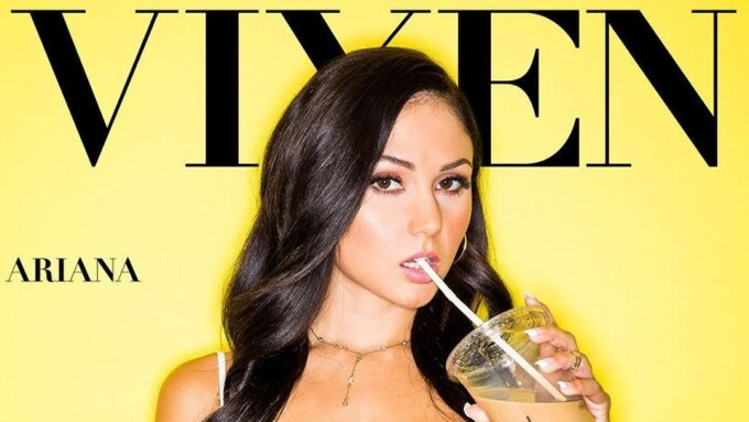 Ariana Marie Stars in Vixen's 'Passionate Raw Sex'