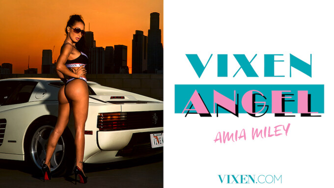 Amia Miley Named Newest Vixen Angel