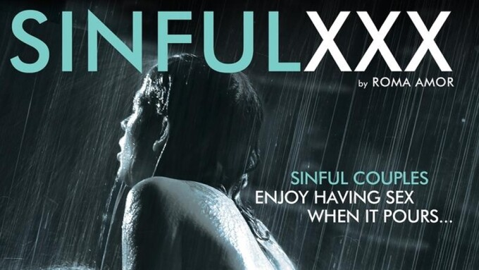 SinfulXXX's 'Wet!' Captures Lust Amidst Falling Water