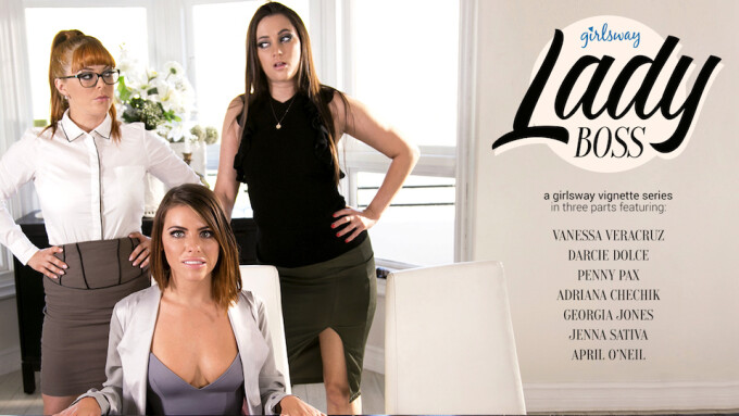 Girlsway Debuts 'Lady Boss: Prove Yourself'