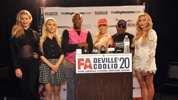 FuckingAwesome.com Sponsors Cherie DeVille's Presidential Run
