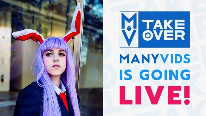 ManyVids Launches MV Takeover