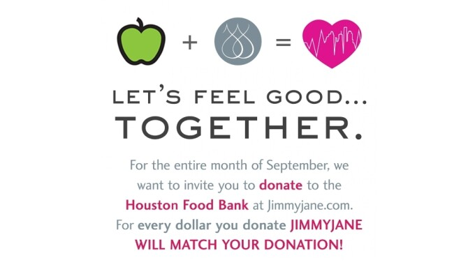 Jimmyjane Matching Donations for Hurricane Harvey Relief Efforts