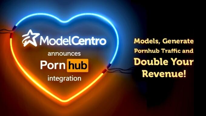 ModelCentro SynC Integrates With Pornhub Model Program