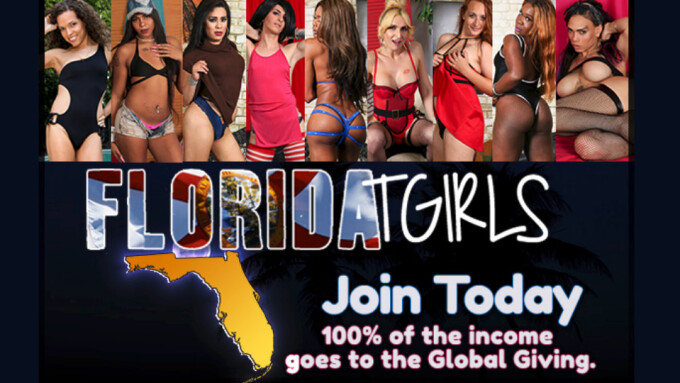 Grooby's FloridaTGirls.com to Fundraise for Hurricane Irma Relief
