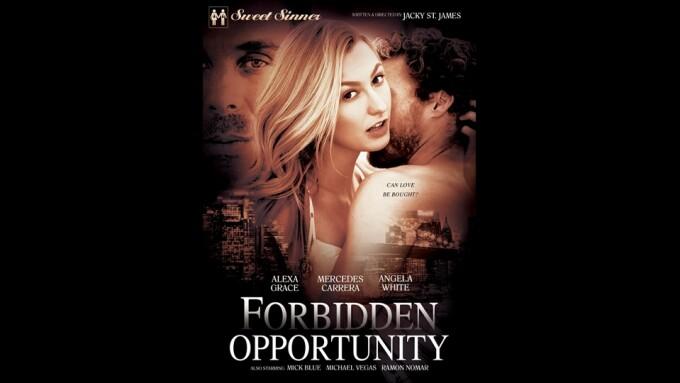 Sweet Sinner Releases Jacky St. James' 'Forbidden Opportunity'