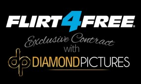 Flirt4Free in Exclusive With Diamond Pictures