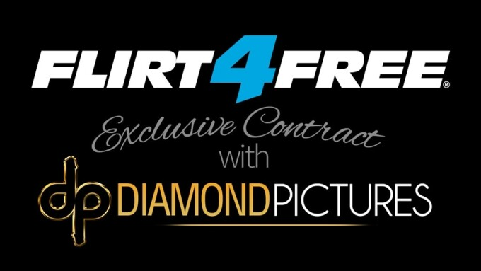 Flirt4Free Partners With Diamond Pictures