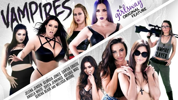 Girlsway Puts a Stake in New Series 'Vampires'