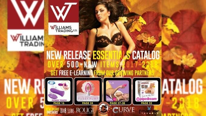 Williams Trading Unveils Fall Release Essentials Catalog
