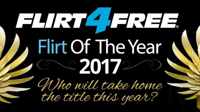 Flirt4Free Announces 'Flirt of the Year' Contest