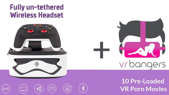 VRBangers, AuraVisor Team to Offer Preloaded VR Headset