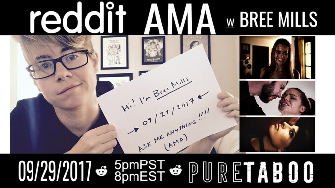 Bree Mills to Host Reddit AMA This Friday