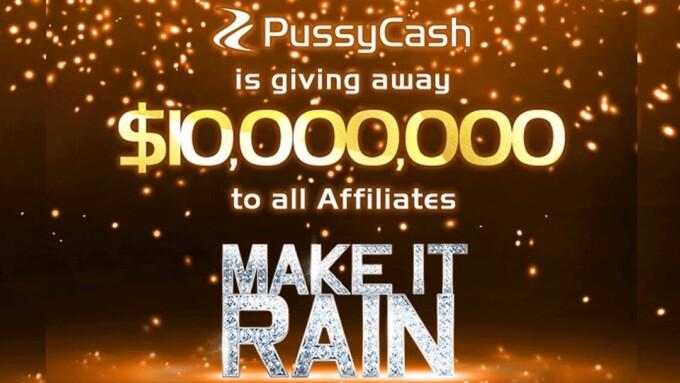 PussyCash Announces $10M Giveaway to Affiliates