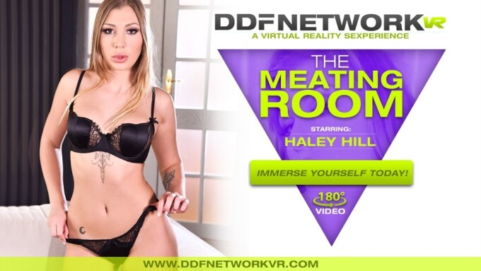 Haley Hill Makes 2nd Appearance on DDF Network VR