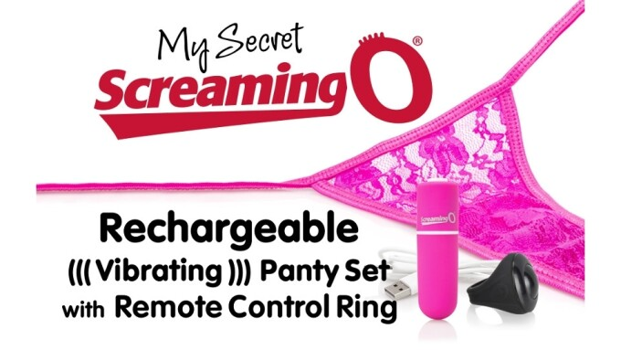 Screaming O Introduces Rechargeable My Secret Panty
