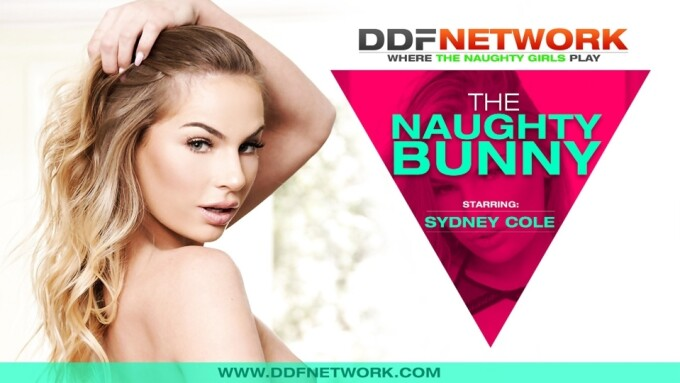 Sydney Cole Makes DDF Network Debut in 'The Naughty Bunny'