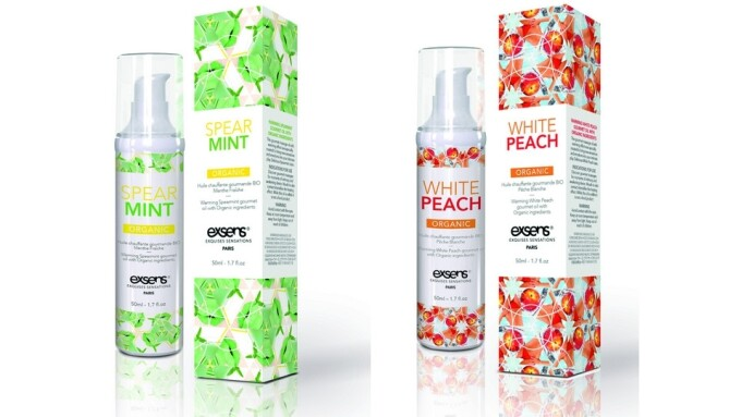 EXSENS Introduces New Organic Massage Oils