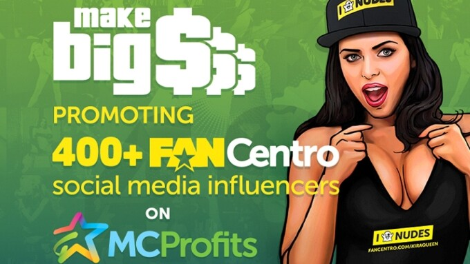 MCProfits' FanCentro Debuts With More Than 400 Influencers