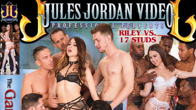 Jules Jordan Premieres 'The Gangbang of Riley Reid'