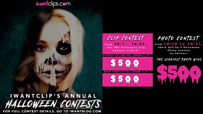 iWantClips Announces Halloween Clips, Photo Contest