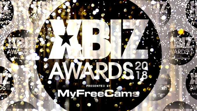 MyFreeCams Returns as Presenting Sponsor of 2018 XBIZ Awards Show