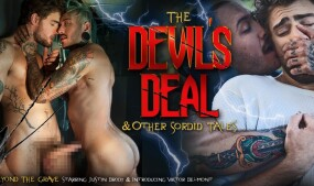 NakedSword's 2nd 'Devil's Deal' Scene Features TS Viktor Belmont