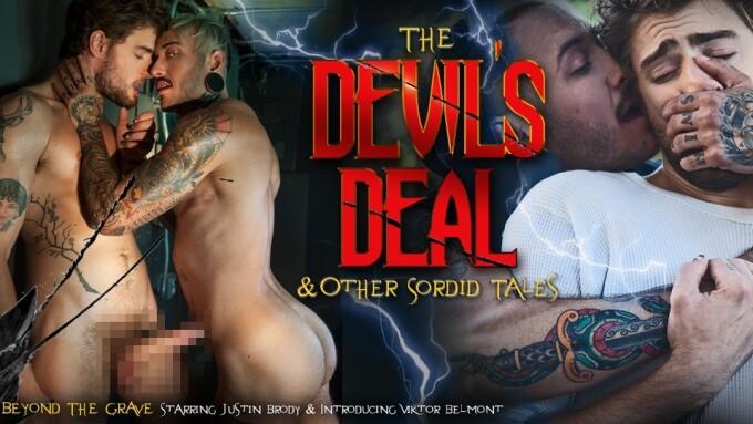 NakedSword Releases 2nd 'Devil's Deal' Scene, Featuring TS Viktor Belmont