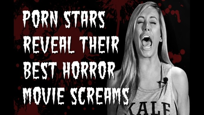 Video: Adult Empire Shares Porn Stars' Best 'Horror Movie' Screams