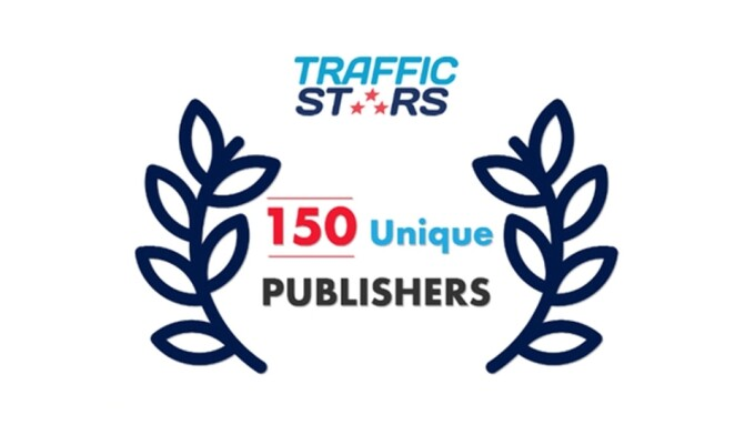 TrafficStars Reaches 150 Unique Publishers