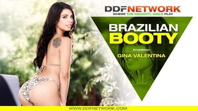 Gina Valentina Makes DDF Network Debut in 'Brazilian Booty'