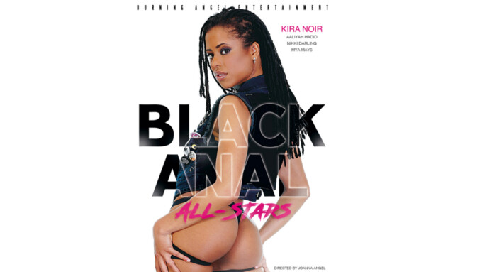 Burning Angel Unveils 'Black Anal All-Stars'