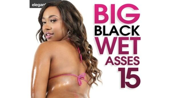 Elegant Angel Releases 'Big Black Wet Asses 15'