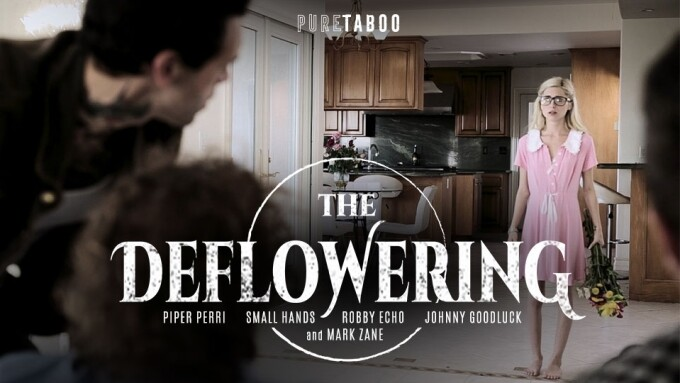 PureTaboo.com Releases Part 1 of 'The Deflowering'