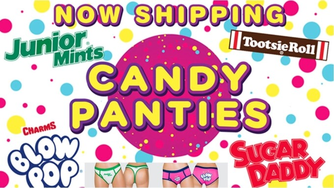 Xgen Products Now Shipping Licensed Candy Panties