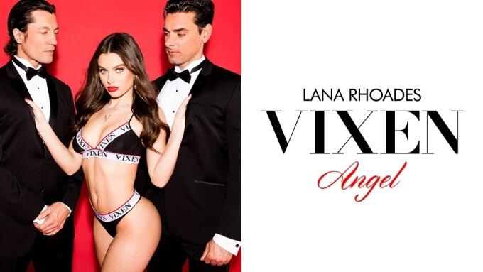 Lana Rhoades Named Newest Vixen Angel