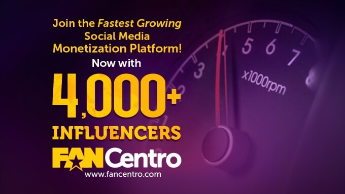 FanCentro Crushes 4,000-Influencer Milestone in Wake of Patreon Fiasco