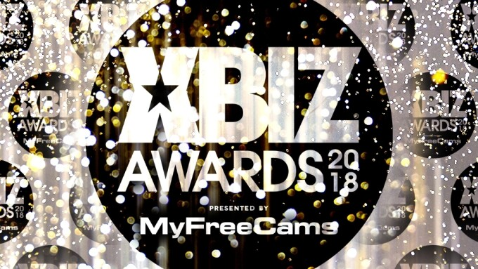 XBIZ Announces Finalist Nominees for 2018 XBIZ Awards