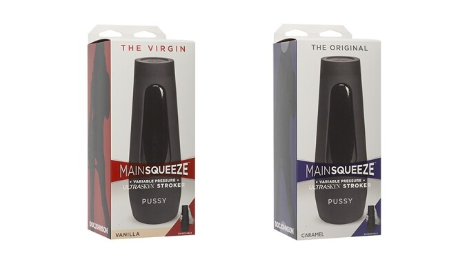 Doc Johnson's Main Squeeze Now Exclusive at Shots Europe