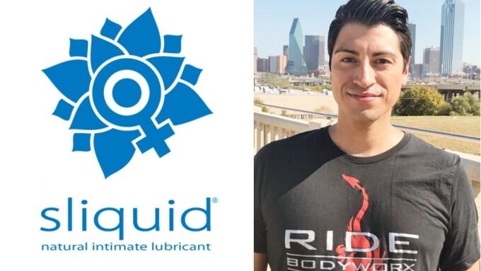 Sliquid Names Erik Vasquez as RIDE BodyWorx Brand Ambassador