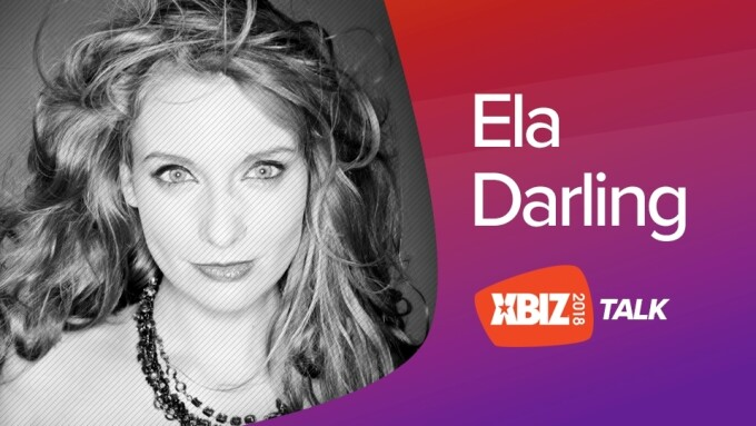 Ela Darling to Deliver 'XBIZ Talk' at January Show